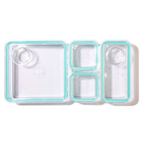 Prepd Container Set - Peach (4 piece) A durable and stackable Sustainable food  $29.00