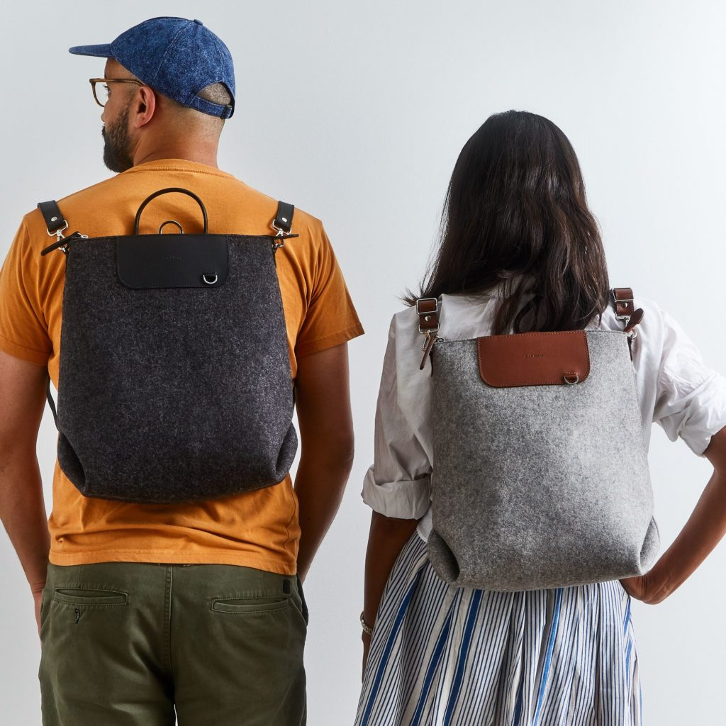 Bedford Felt & Leather Backpack $345