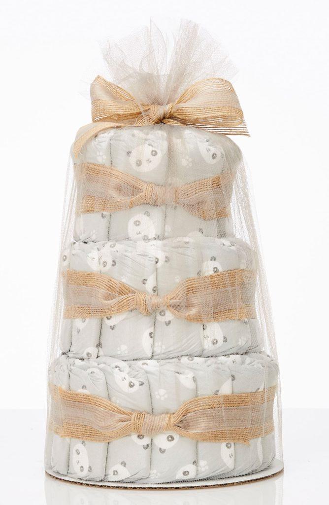 Mini Diaper Cake & Travel-Size Essentials SetTHE HONEST COMPANY $39.95