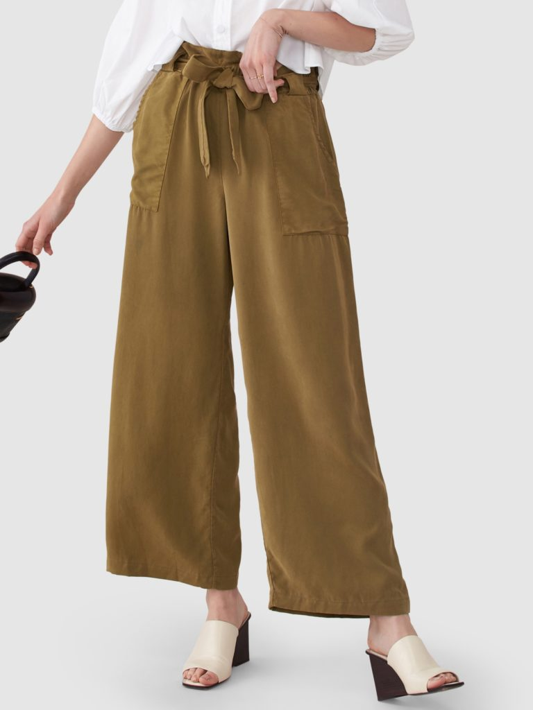 Back Beat Rags Paperbag Waist Pant $32.00