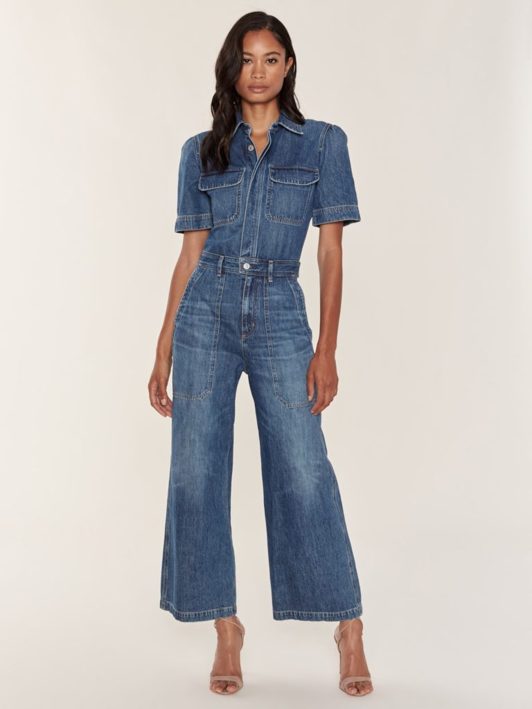 Citizens of Humanity Miki Wide Leg Denim Jumpsuit $398.00