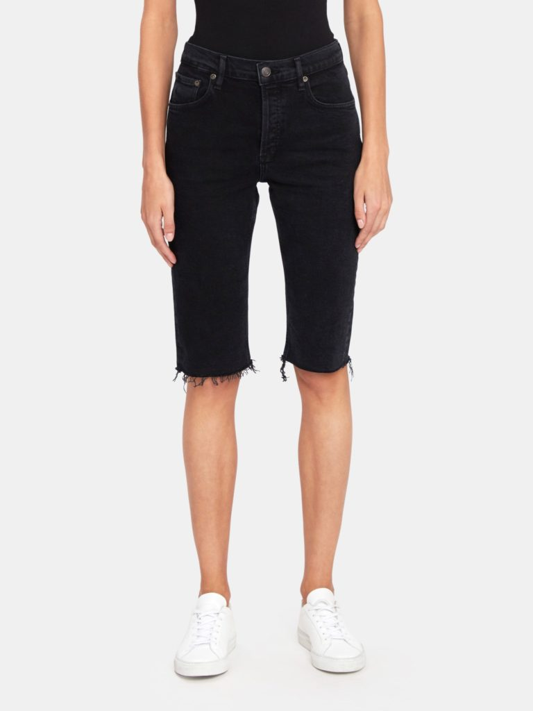 AGOLDE Carrie Long Length Shorts $138.00