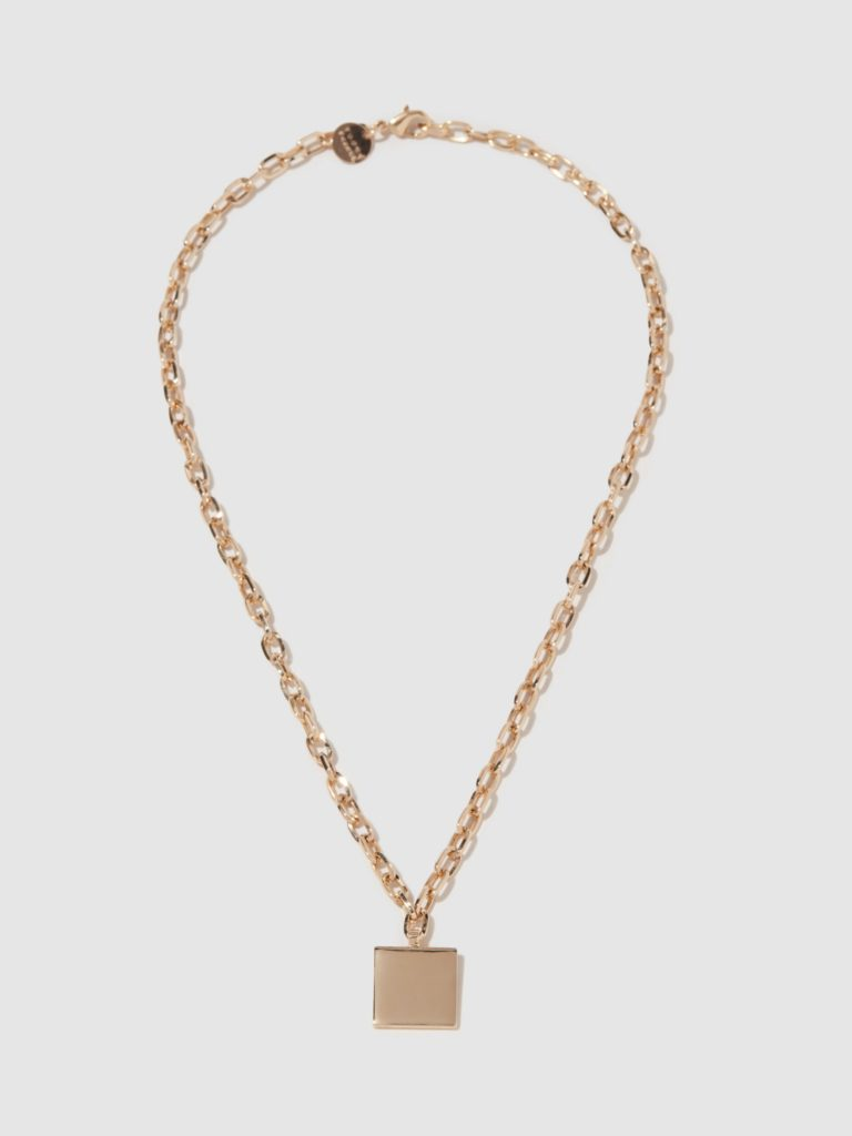 Young Frankk Square Chain Necklace $93.00