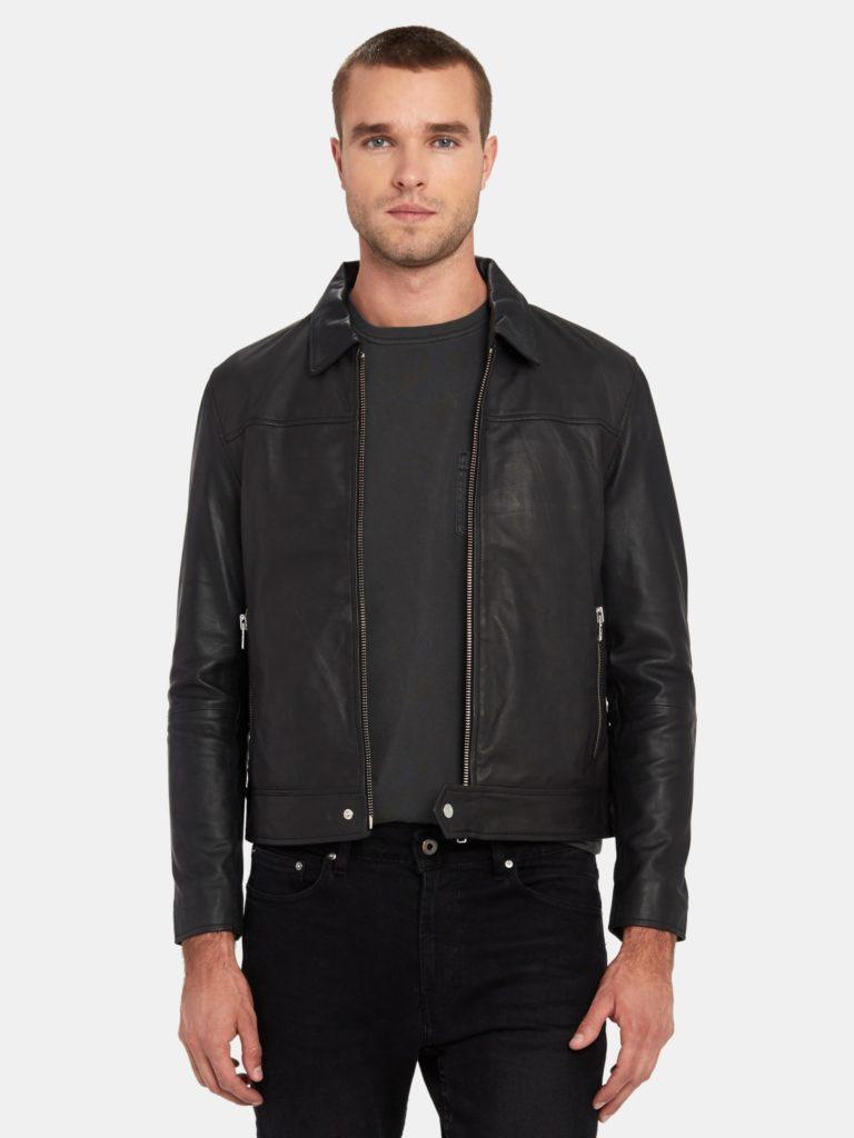Deadwood Sharpe Leather Jacket $400.00