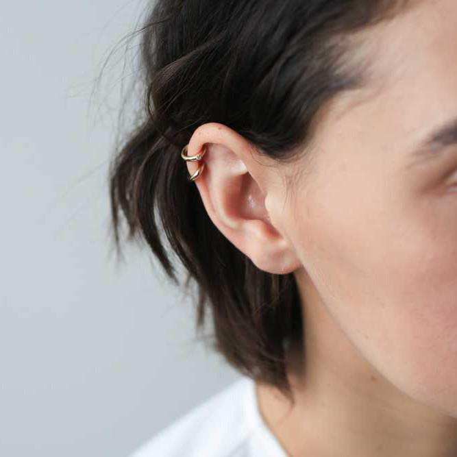 CLASSIC EAR CUFF IN STERLING SILVER $39.00