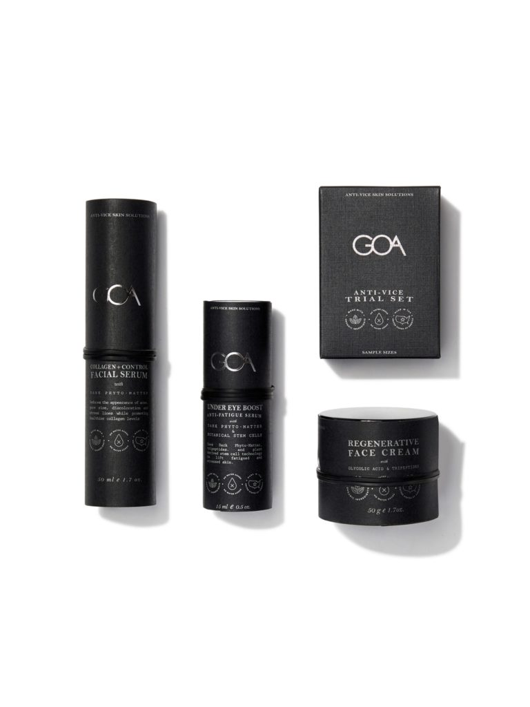 GOA Skincare Anti-Vice Face Set $152.00