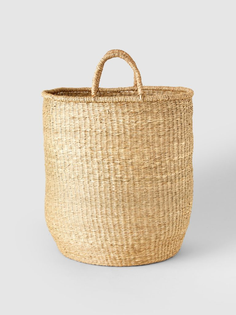 Connected Goods Seagrass Hamper $150.00