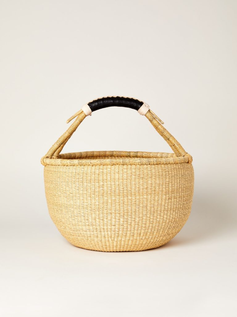 Savanna Baskets Beam Straw Basket $70.00