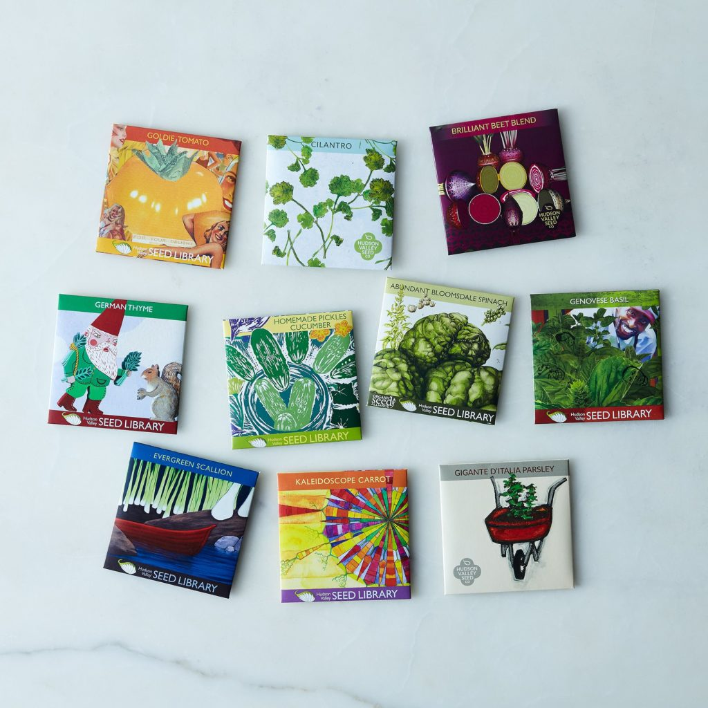 Herb & Vegetable Seeds (Set of 10) $40
