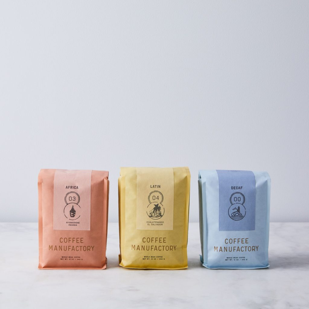 Coffee Manufactory Whole Bean Single Origin Coffee (2-Pack) $42–$48