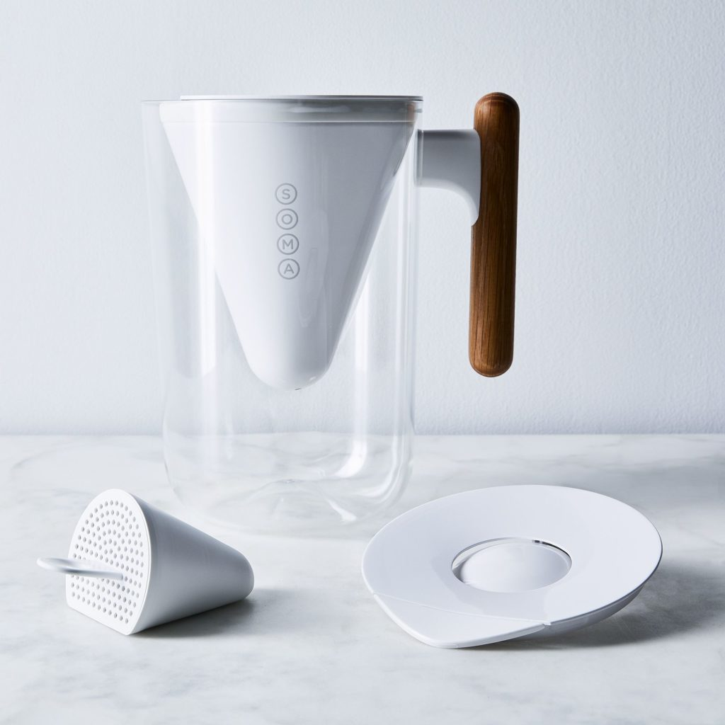 Soma 10-Cup Pitcher with Bamboo Handle $40