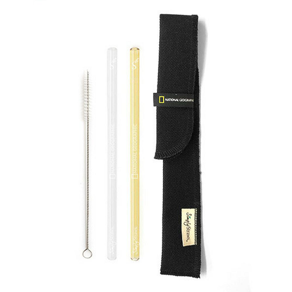 National Geographic Simply Straws Twin Sleeve Set $22.00