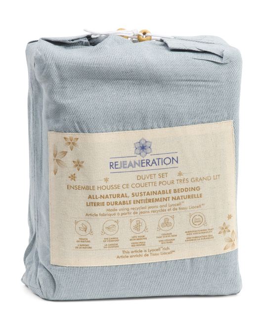REJEANRATION Au Natural Sustainable Duvet Set $39.99 — $44.99