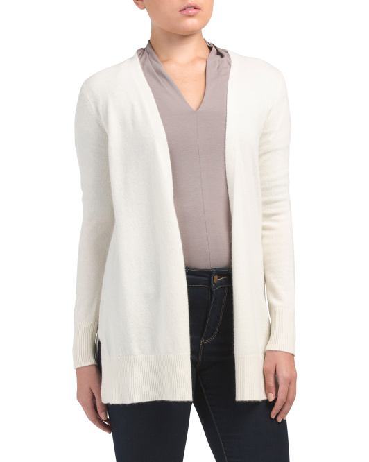 SIGRID OLSEN Sustainable Cashmere Open Cardigan$69.99