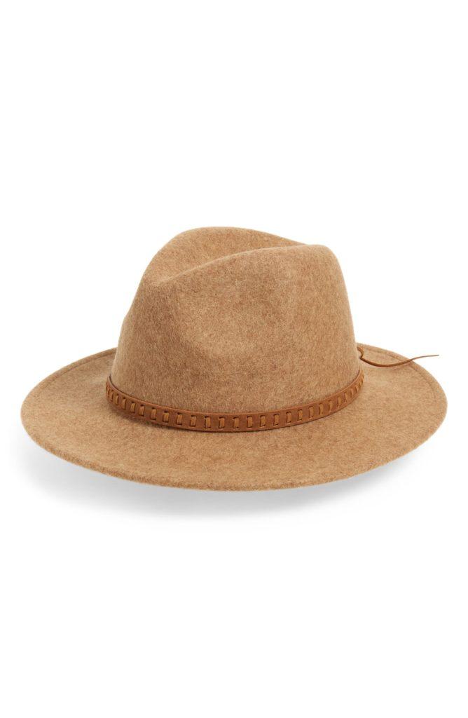 Wool Felt Panama Hat TREASURE & BOND $39.00
