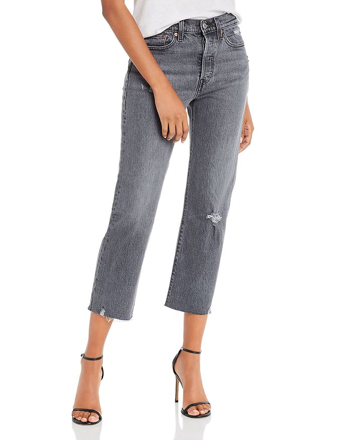 Levi's Wedgie Straight Jeans in Cabo Smoke $98.00