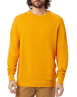ALTERNATIVE Washed-Terry Champ Sweatshirt $50.00