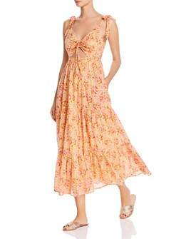Banjanan Zoe Floral Cutout Maxi Dress $260.00