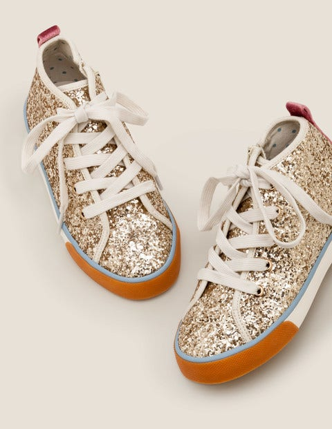 High Tops -Pale Gold $60.00