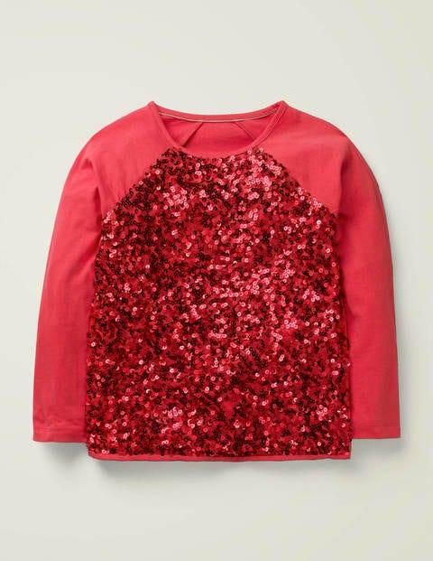 Sequin Raglan T-Shirt $19.00