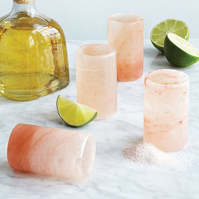 Himalayan Salt Tequila Glasses- Set of 4 $28.00