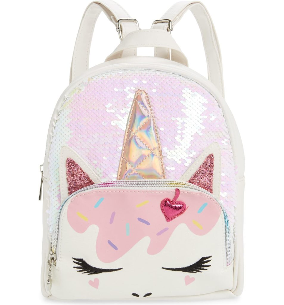 Ice Cream Unicorn Backpack $42.00