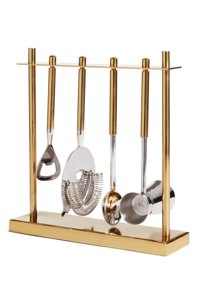 Nordstrom 5-Piece Stainless Steel Bar Tool Set $49.90