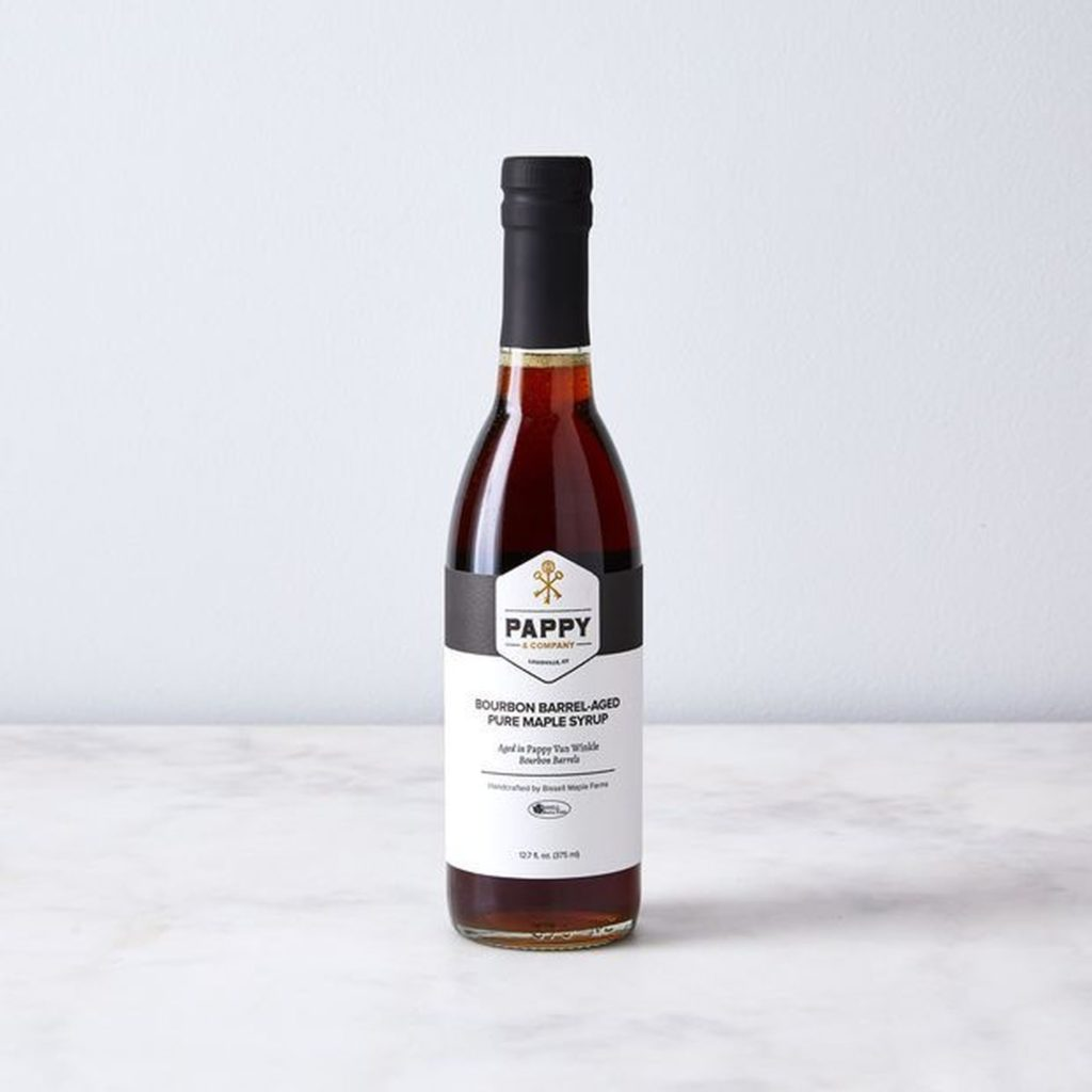Bourbon Barrel Aged Maple Syrup $40