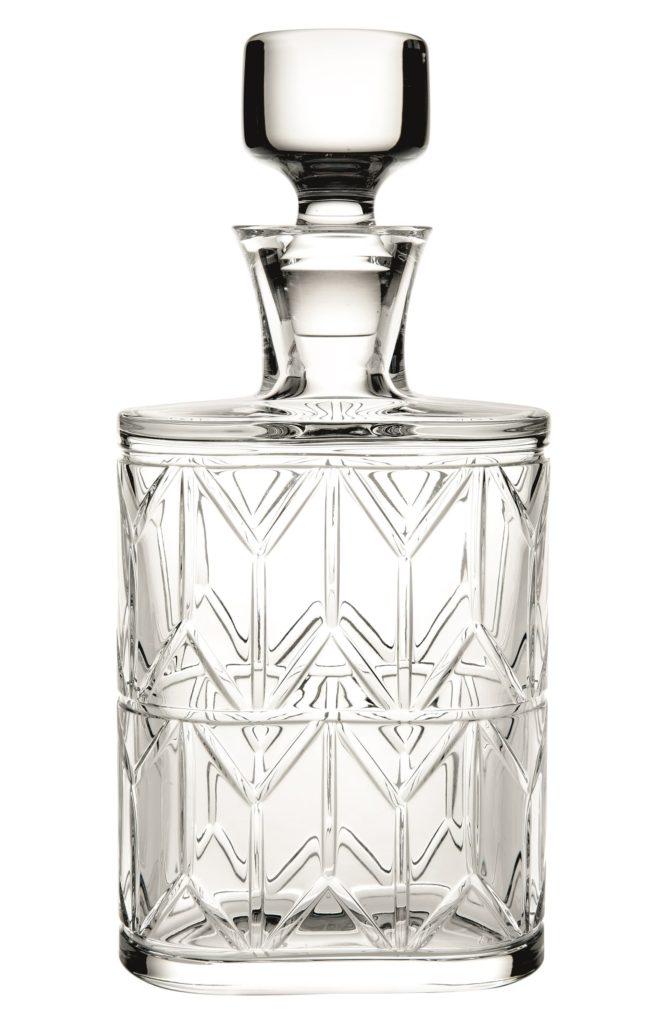 VistaAlegre Avenue Lead Crystal Spirits DecanterVISTA ALEGRE $185.00