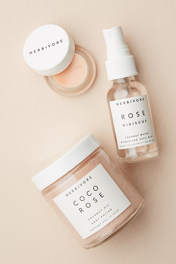 Herbivore Botanicals Coco Rose Luxe Hydration Gift Set $39.00