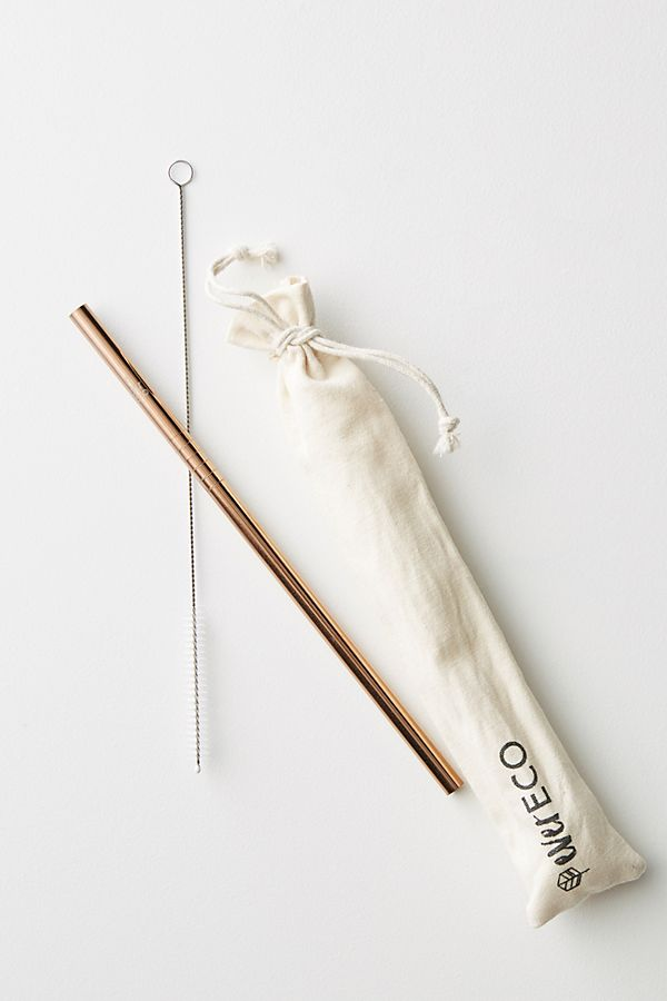 Ever Eco On-The-Go Rose Gold Straw$9.00