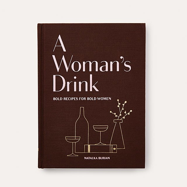 A Woman's Drink Recipe Book $19.95