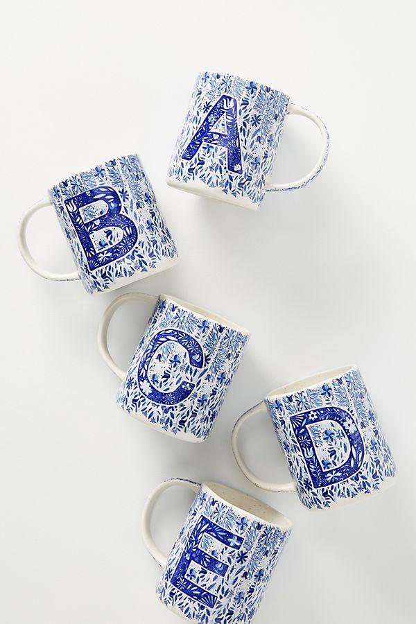 Folksong Monogram Mug $12.00