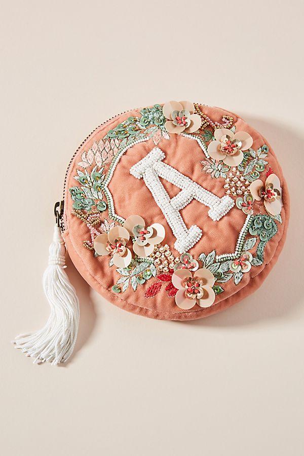 Monogram Crest Pouch $38.00