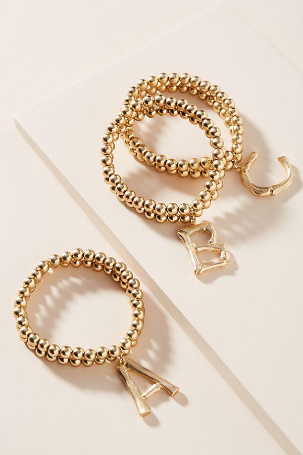 Monogram Beaded Bracelet $28.00