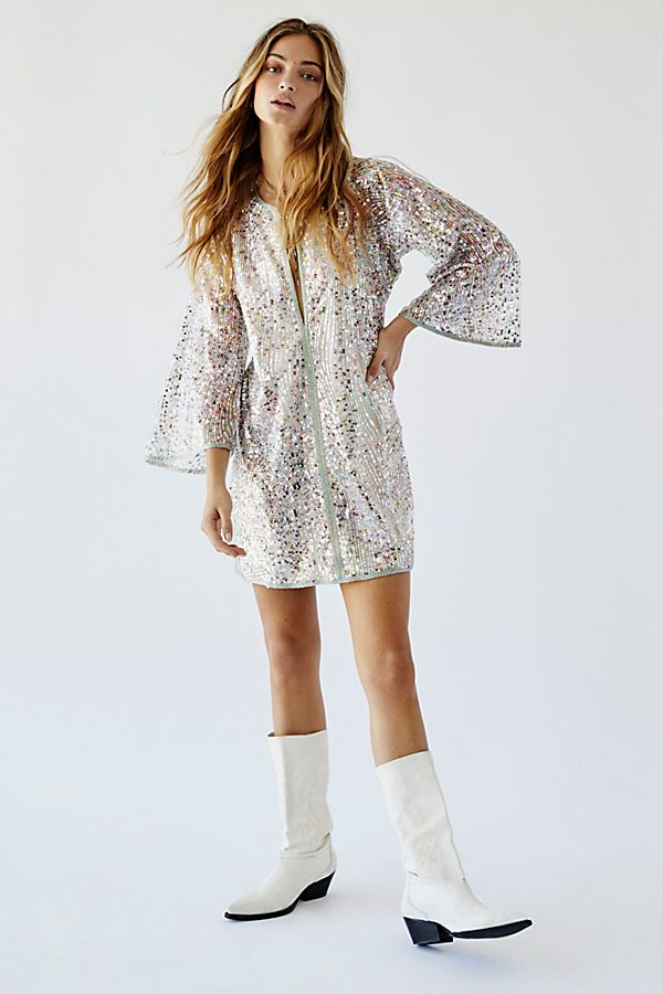 Sequin Mini Dress $395.00