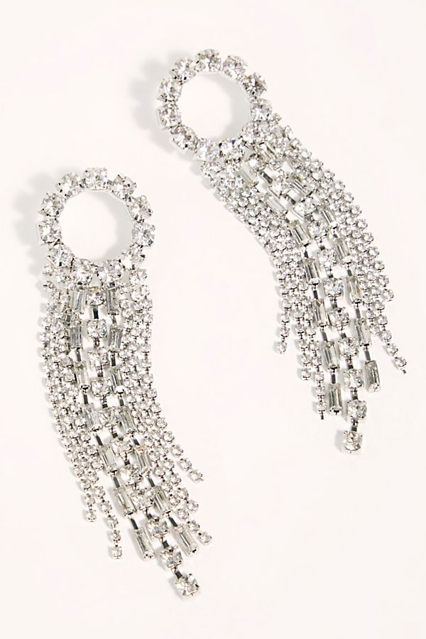 Gemma Rhinestone Earrings $40.00