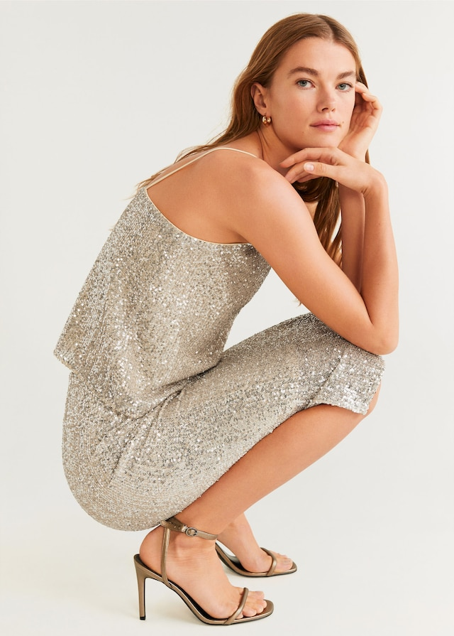 Sequin midi skirt $79.99