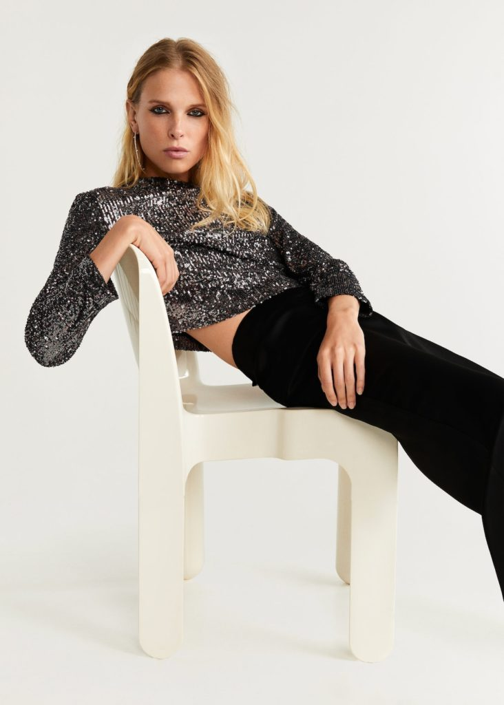 Sequined top $79.99