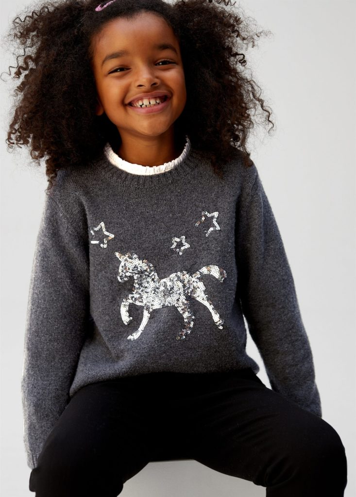 Sequins unicorn sweater $39.99