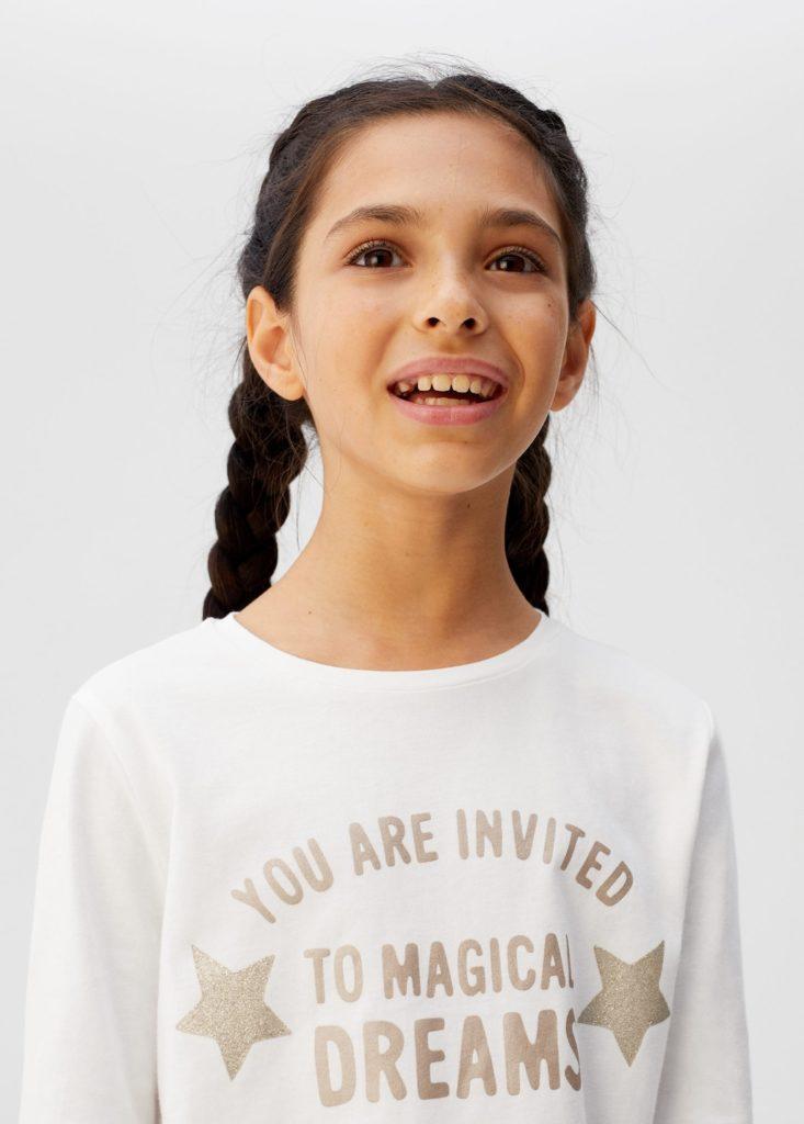 Glitter message t-shirt $15.99