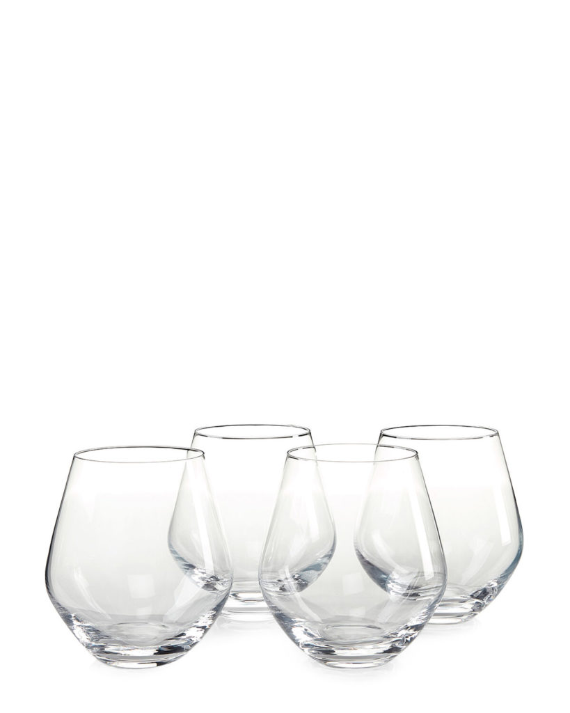Set of Four Soiree Stemless Wine Glasses$9.99
