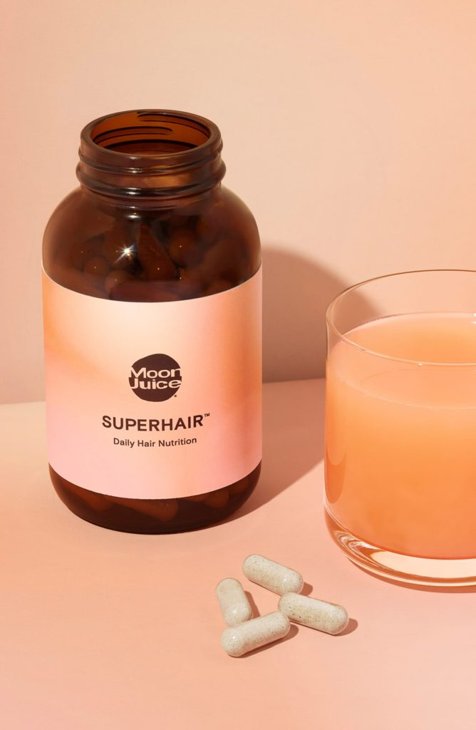 SuperHair™Daily Hair Nutrition Dietary Supplement MOON JUICE $60.00