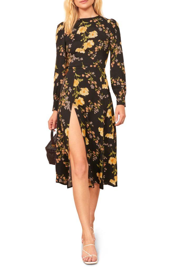 Creed Floral Print DressREFORMATION $248.00