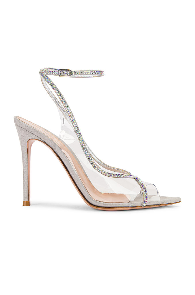 GIANVITO ROSSI Ankle Strap Heels $1,245