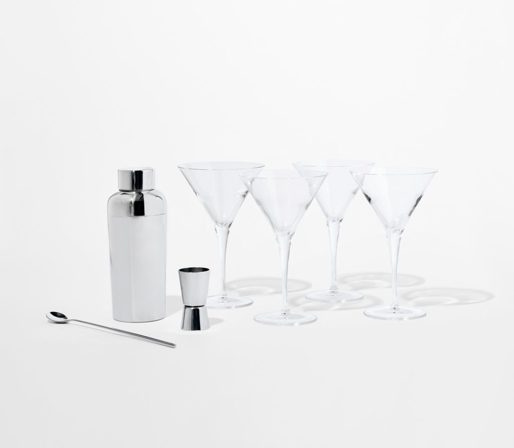 Martini Barware Set $195.00
