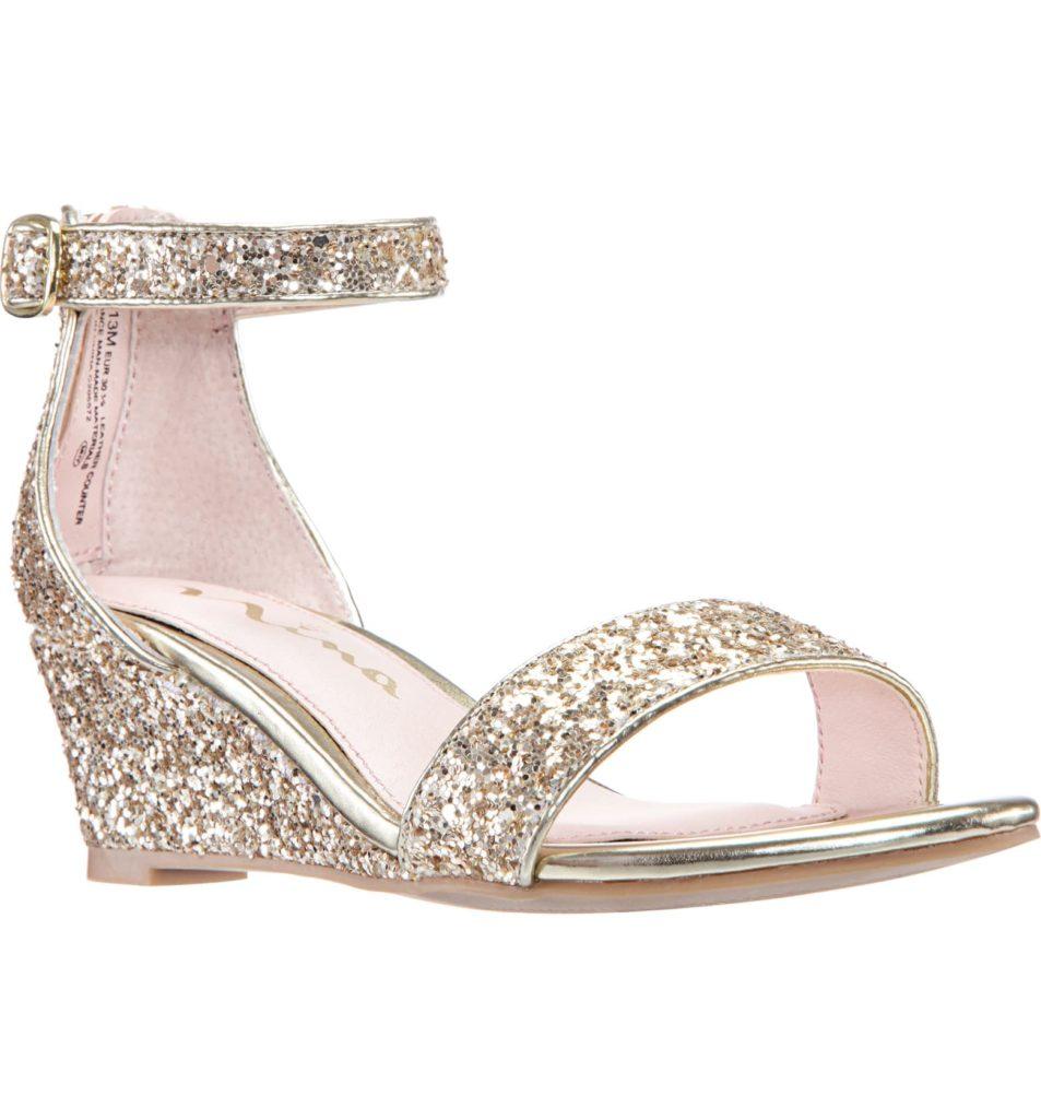 Kristina Wedge Glitter Sandal $49.99