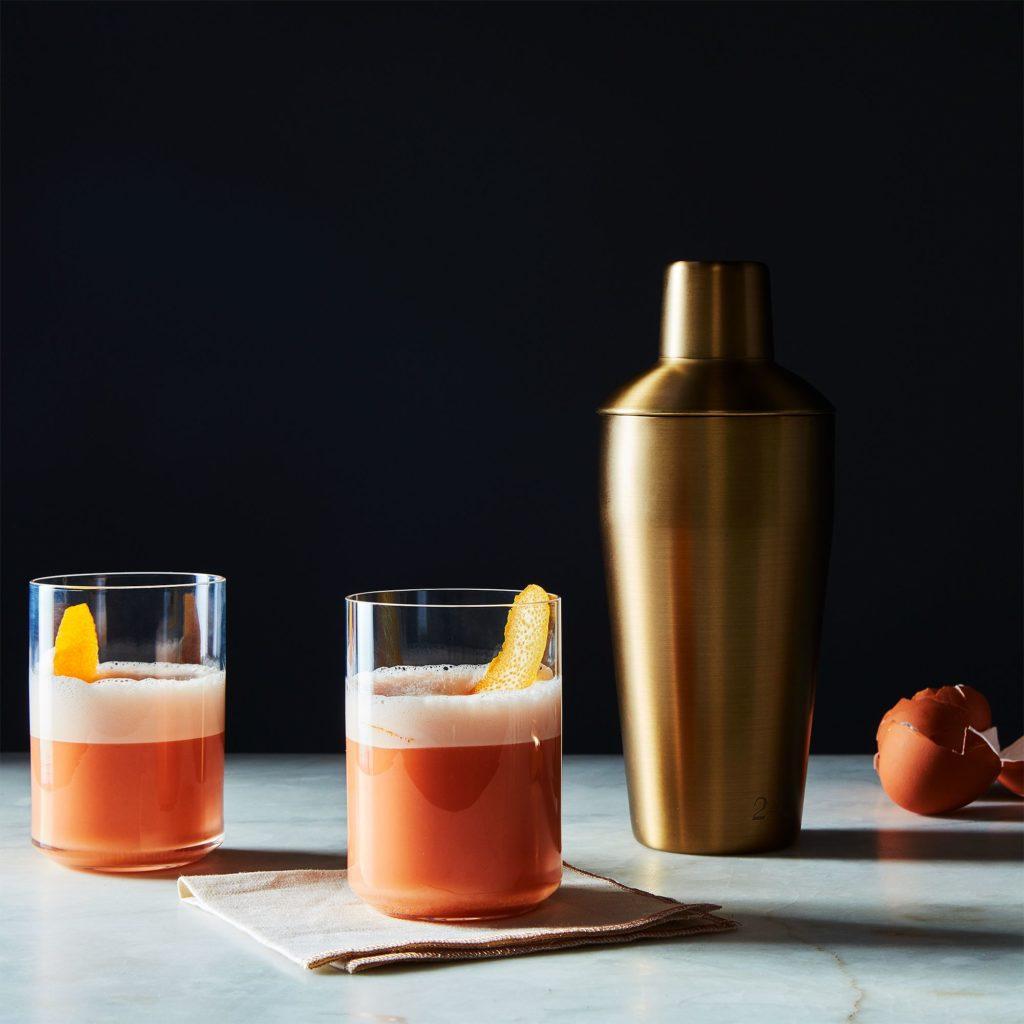 Matte Gold Cocktail Shaker $55