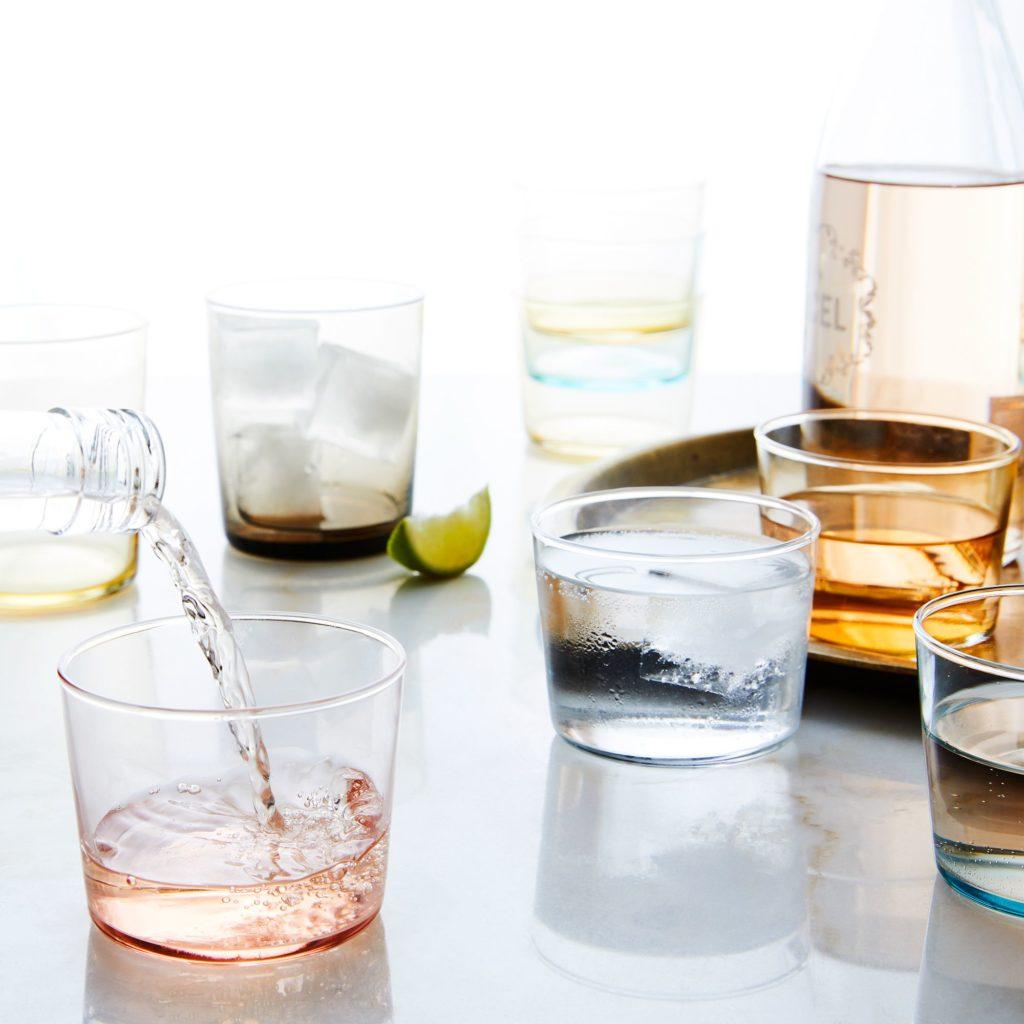 Handblown Chroma Glassware $30–$84