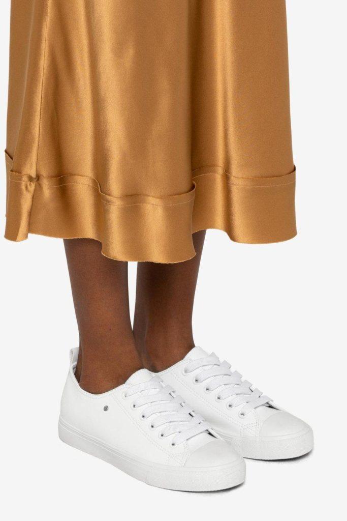 HAZEL Sneaker - WhiteMATT & NAT $80.00